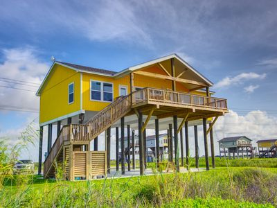 Photo for Splash Beachfront Home  3 BR, 3 BTH ,Gourmet kitchen, Amazing Deck
