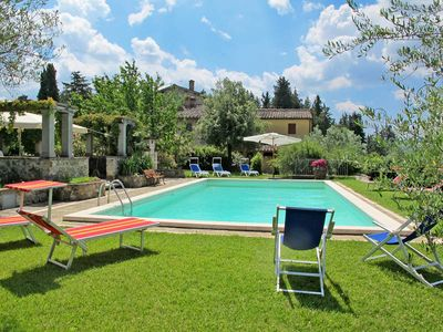 Photo for Vacation home Podere Reggine  in Panzano/Greve in Chianti, Florence and surroundings - 12 persons, 6 bedrooms