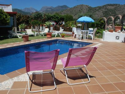 Photo for Beautiful Rustic House with gardens and pool on the Costa del Sol.