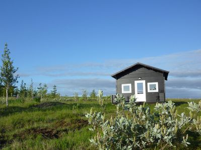 Welcome to your home in Iceland, peaceful location with open views.