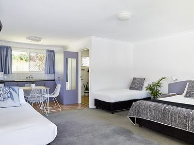 Photo for 32/15  Bangalow Road, Byron - Flamingo Suites - Deluxe Family Room