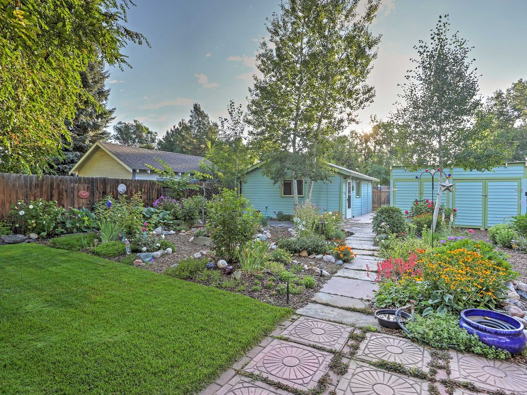 Lovely fort collins studio w beautiful gar homeaway for Cabin rentals near fort collins colorado
