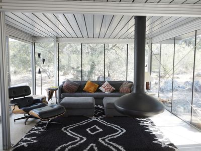 Photo for Glass home, with river, night sky & privacy What more can you ask for?