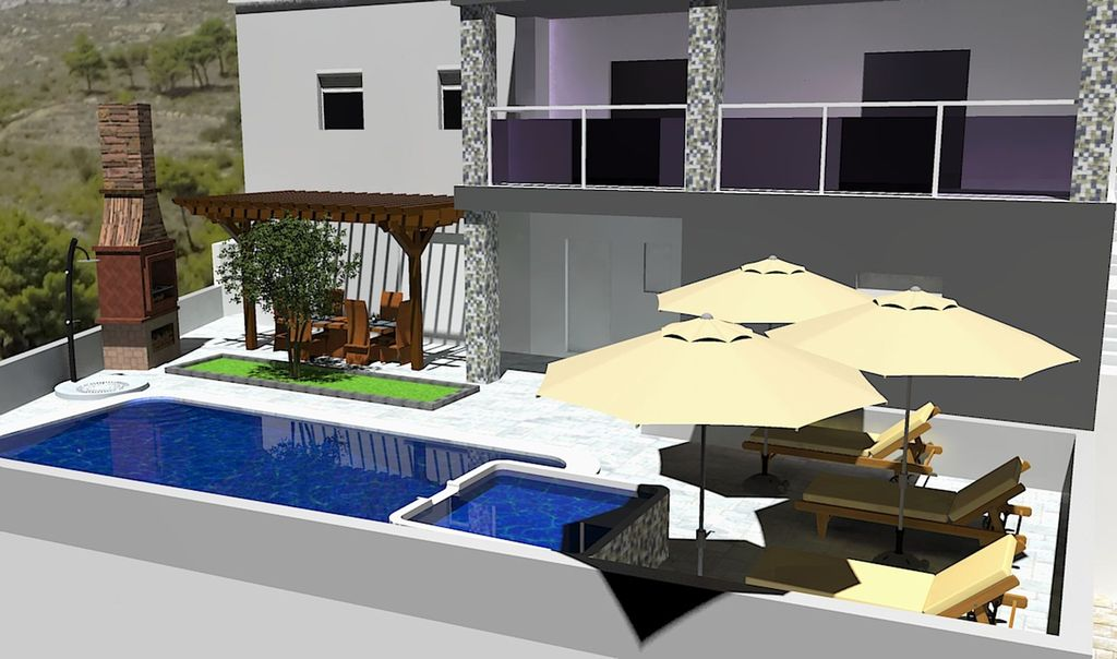 Villa With Swimming Pool For 8 Persons