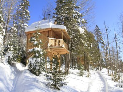 Photo for 1BR Chalet Vacation Rental in wentworth-nord, Québec