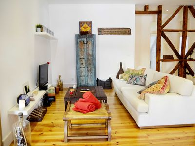 Photo for Large, stylish & charming loft in great part of Lisbon