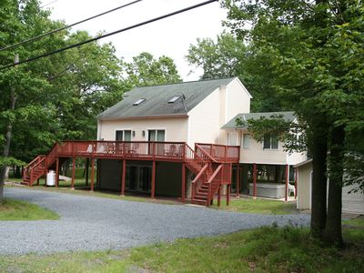 Photo for Tastefully Decorated, Beautiful Chalet With Hot Tub, Pool Table, and Game Room!!