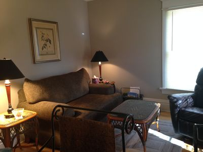 Photo for Quiet Downtown 2 Bdrm Apartment.  Walk to UWO
