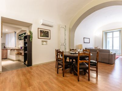 Photo for Case Barbera - Parlamento huge apartment 2 bedrooms