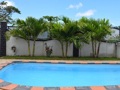 Photo for Villa with private pool in Mont Choisy