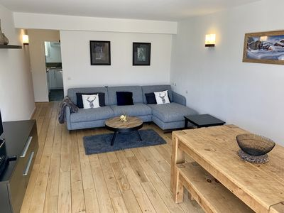 Photo for Central 6 Person 47m2 Apartment. Amazing South Facing Balcony. 150m To Ski Lifts