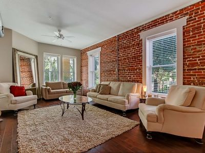 Photo for 1906 Historic Dwntwn Loft, All Renovated!  5 min walk to Dining, 2 mile to Sports Complex, Free Wifi