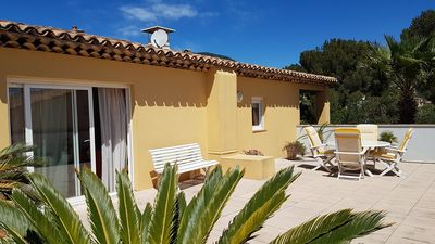 Photo for SUPERB VILLA ON THE ROOF CLIMATISEE FOR 8 PEOPLE RESIDENCE LES LAVANDIERS