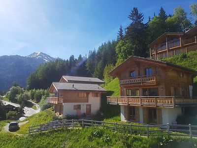 Photo for Vacation home Chalet Petit-Sapin  in La Tzoumaz, Valais - 10 persons, 5 bedrooms