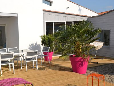 Photo for CHARMING VILLA OF 140M NOIRMOUTIER A 2 A 600 M FROM THE SEA COMFORTABLE
