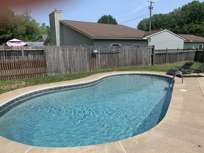 Photo for High-End Private Pool Retreat ~ Great Location ~ Only 10 Minutes To Cedar Point!