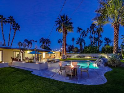 Photo for Classic Palm Springs House w/ Mountain-View Pool