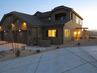 Photo for Beautiful 4 Bed, 3 1/2 Bath Townhome. Gorgeous views on Coral Canyon Golf Course