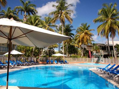 Photo for Charming studio with pool in Martinique for 3/4 people