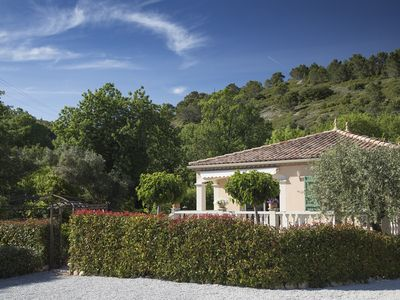 Photo for Villa Lucques. Fully air conditioned with private parking and shared pool.