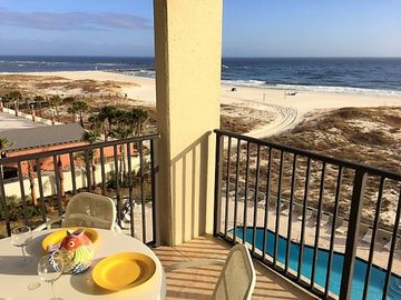 Best beach location on AL coast; View Gulf &Perdido Pass; New Updates; Free WiFi