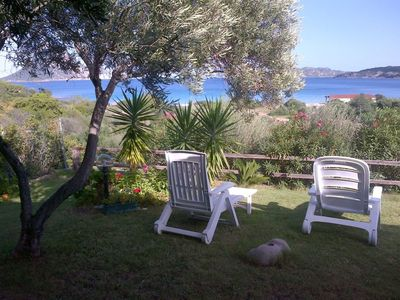 Photo for Cottage Porto Taverna, 80 m from the Beach with Private Terrace & Garden; Parking Available