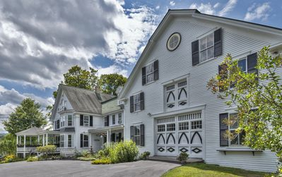 Grand Victorian Home on 3 Landscaped Acres in a Rural Village Setting