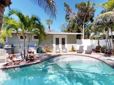 Photo for Family-friendly vacation home w/ private, heated pool & furnished patio