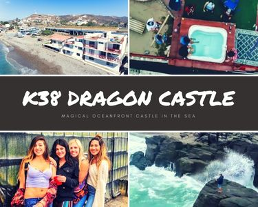 Photo for K38 Ocean Front DRAGON CASTLE- 3 stories, sleeps 25!