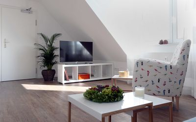 Photo for High quality furnished holiday- / exhibition apartment with a view in Solingen-Gräfrath