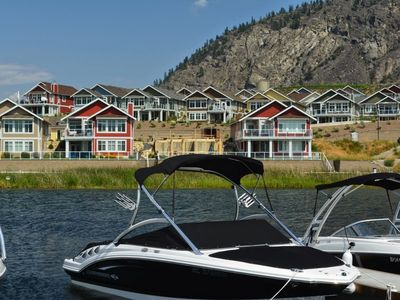 Photo for OSOYOOS PRIVATE RESORT HOME STEPS FROM THE LAKE