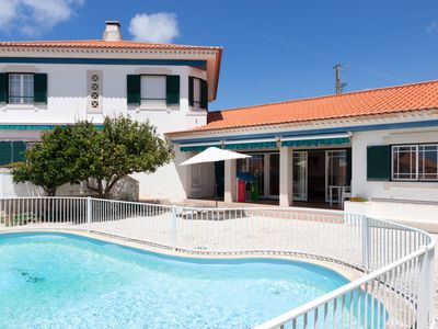 Photo for Spledind & comfortable sea side villa, private swimming pool and bbq, sleeps 15