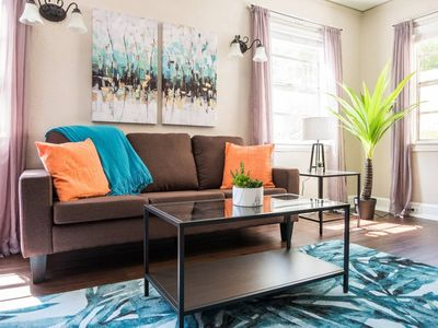 Photo for Getaway @ the Bay | Tropical + Cozy 1BR w/ Parking