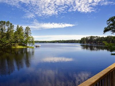 Photo for Large Private Home on Boulder Lake With UpNorth Charm