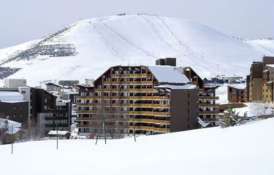 Photo for 2 rooms apartment. at the foot of the slopes at Alpe D'huez 1 to 4 people