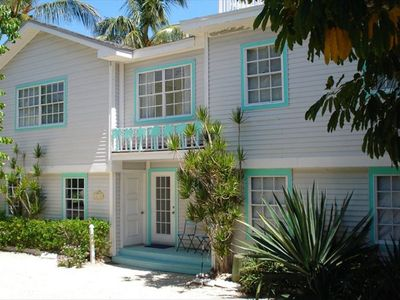 Photo for Captiva - Pool Home - Footsteps to Beach and Bay. 3rd property from beach.