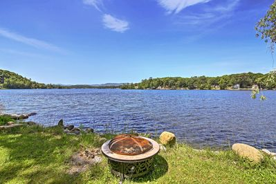 Escape to Glen Lake at this lovely vacation rental home.