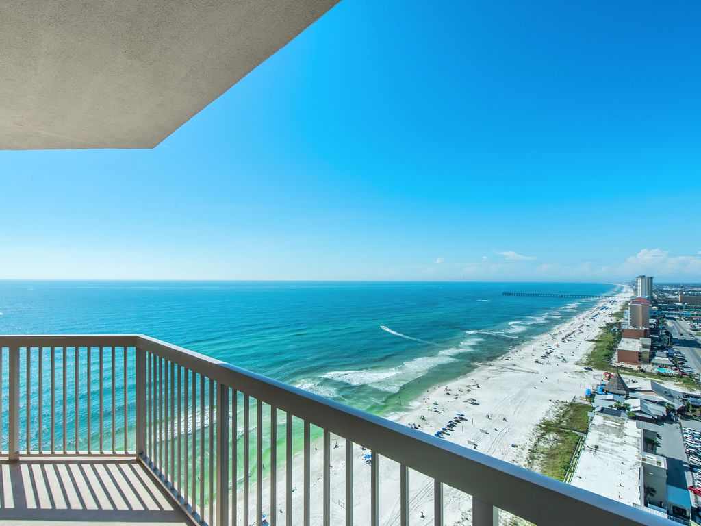 Panama City Beach Condo Al Just Look At That View From The Balcony