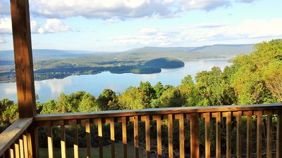 Photo for View!!!, Gated , Hot Tub, Wood Fireplace, Chattanooga 25 Miles, 8 Cabins, Serene