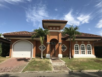 Photo for Beachside Private House in Gated community - Walk to the Pool and Beach!
