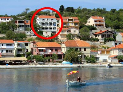 Photo for One bedroom apartment with terrace and sea view Sali (Dugi otok)