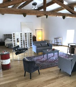 Photo for Old Magnanerie, renovated in Loft in Lubéron, with Jacuzzi