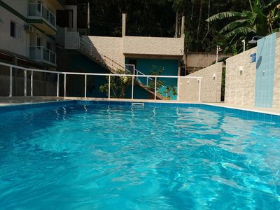 Photo for Furnished kitchenette with swimming pool and leisure area nearby. the beach Martim de Sá
