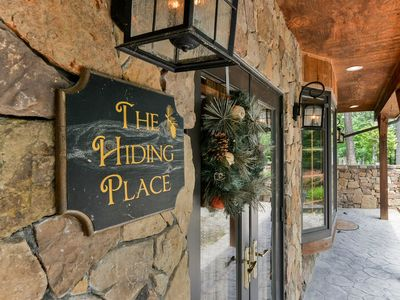 Photo for The Hiding Place - All-One-Level Carriage House Near Branson- Pool Table, Hot Tub on 40 acres in Tall Pines