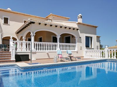 Photo for Luxury, beautiful 3 bedroomed property with pool and stunning views. Sleeps 6