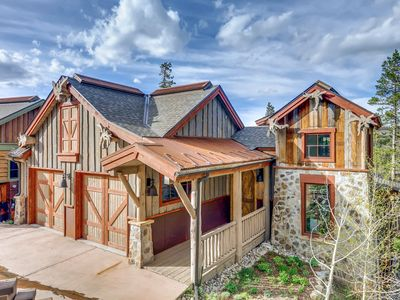 Photo for Large Mountain Home w/ Epic Views, Private Hot Tub, Wraparound Deck