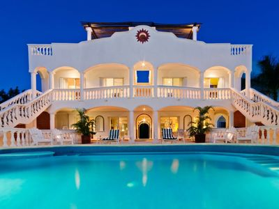 Photo for Chango Villa- Ocean Front - Private Beach- 7 Bedrooms- Scuba Diving