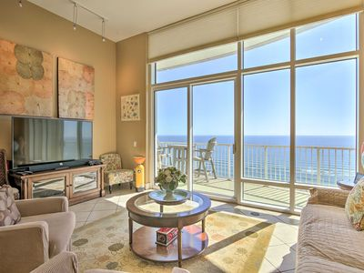 Photo for NEW! South Padre Resort Condo w/ Beach+Ocean Views