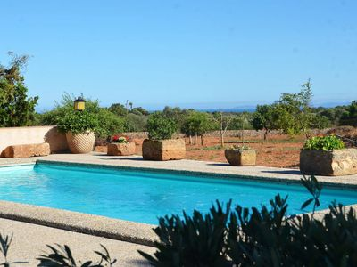 Photo for Idyllic Country Estate with Pool, Terraces & Olive Grove; Parking Available