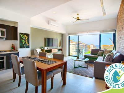 Photo for Relax In Style With Ocean Views at Loft 268 Building | Pool, Gym, BBQ